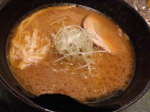 竹虎の味噌ラーメン