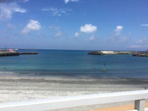 大島の浜辺