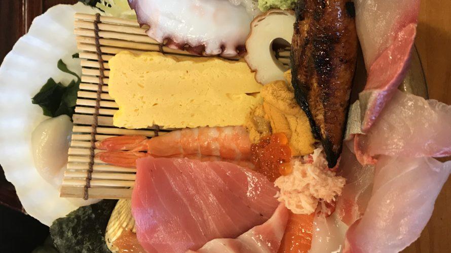 玉造温泉若竹寿司