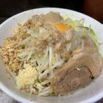 【汁なし】ラーメン二郎横浜関内店